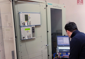 ANNUAL TESTING OF PROTECTION DEVICES IN 123 kV SWITCHGEAR TPP KAKANJ, B&H.